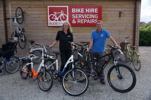 Batribike Electric Bikes - Bude Cornwall