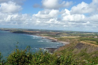 Bude to Widemouth and back