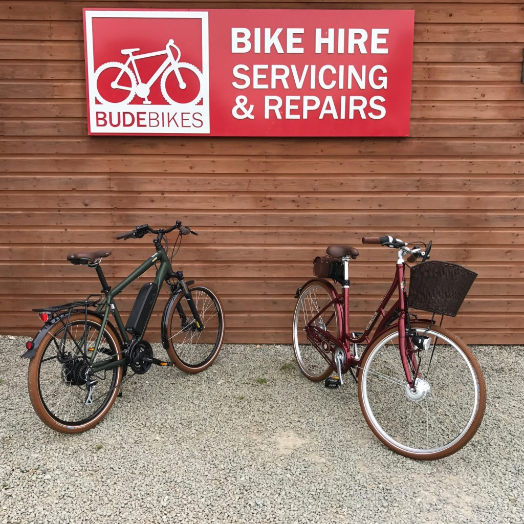 Batribike Ebikes at BudeBikes