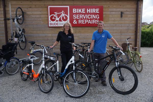 Batribike Electric Bikes - Bude Cornwall