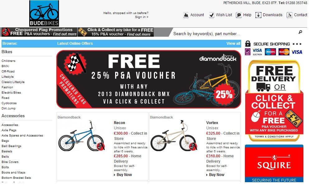Bike Sales in Bude